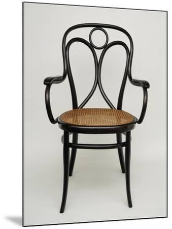 Thonet Chair, Steamed Beech, Austria--Mounted Giclee Print