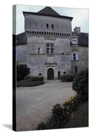 View of Chateau De Cenevieres, Midi-Pyrenees, France, 13th-16th Century--Stretched Canvas Print