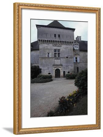 View of Chateau De Cenevieres, Midi-Pyrenees, France, 13th-16th Century--Framed Giclee Print