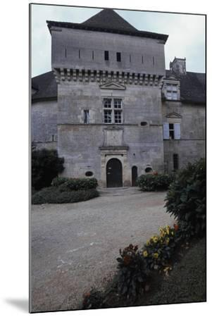 View of Chateau De Cenevieres, Midi-Pyrenees, France, 13th-16th Century--Mounted Giclee Print