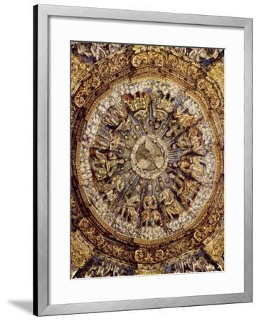 Dome of Pentecost, 1723, Church of Ocotlan, Mexico--Framed Giclee Print