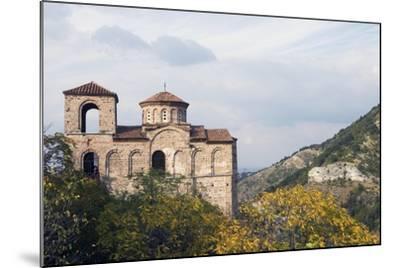 Fortress Church in Mountain Area, Asenovgrad, Rhodope Mountains, Bulgaria--Mounted Giclee Print