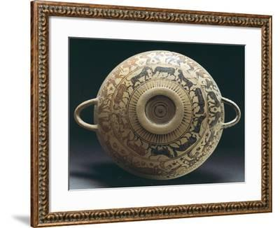Corinthian Pottery from Apulia, Italy--Framed Giclee Print