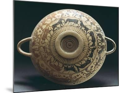 Corinthian Pottery from Apulia, Italy--Mounted Giclee Print