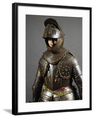 Corselet in Burnished Steel, England, First Half of 17th Century--Framed Giclee Print