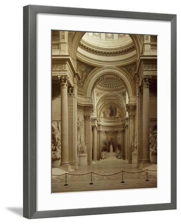 Interior of Pantheon in Paris--Framed Giclee Print