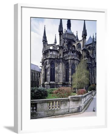 The Apse of Cathedral of Notre-Dame , Reims, France, 13th Century--Framed Giclee Print