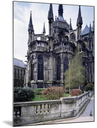The Apse of Cathedral of Notre-Dame , Reims, France, 13th Century--Mounted Giclee Print