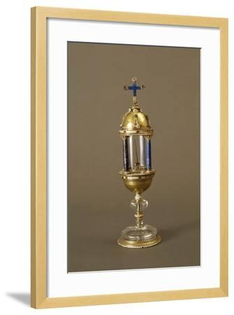 Reliquary of Thorn from Jesus Christ's Crown of Thorns--Framed Giclee Print