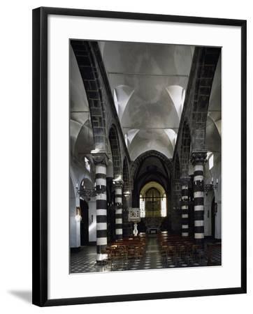 Interior of Sant Antonio Chapel in Lerici--Framed Giclee Print