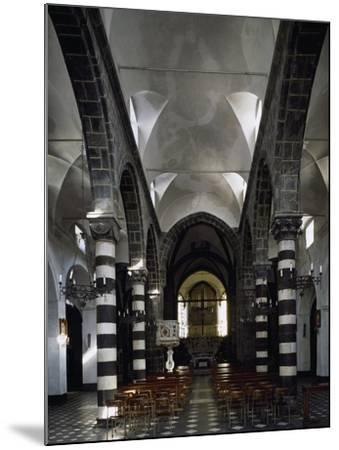 Interior of Sant Antonio Chapel in Lerici--Mounted Giclee Print