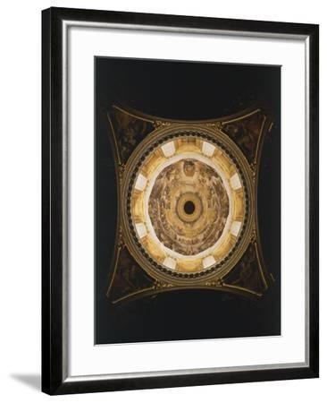 Interior of Dome of Pauline Chapel, 1616, Basilica of Santa Maria Maggiore, Rome, Italy--Framed Giclee Print