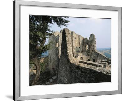Ruins of Matilda of Canossa's Castle, Ciano D'Enza, Reggio Emilia, Emilia-Romagna, Italy--Framed Giclee Print