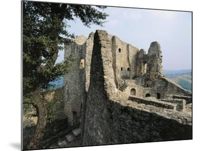 Ruins of Matilda of Canossa's Castle, Ciano D'Enza, Reggio Emilia, Emilia-Romagna, Italy--Mounted Giclee Print