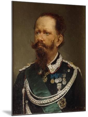 Portrait of Victor Emmanuel II, 1820 - 1878--Mounted Giclee Print