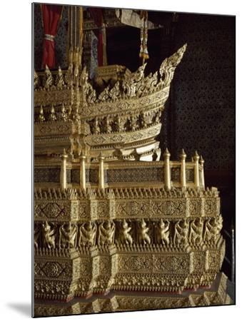 Throne, Detail of Decoration, Grand Palace, Bangkok, Thailand--Mounted Giclee Print