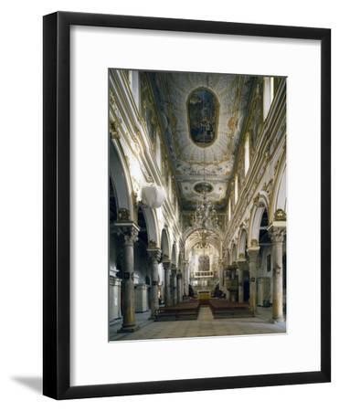Cathedral of Matera, Interior, Basilicata, Italy--Framed Giclee Print