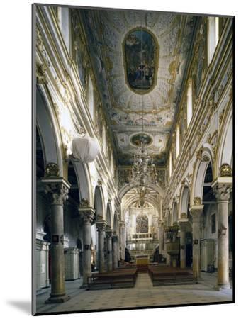 Cathedral of Matera, Interior, Basilicata, Italy--Mounted Giclee Print