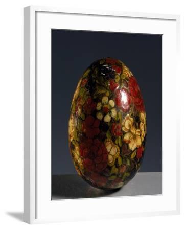 Glass Egg--Framed Giclee Print