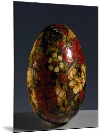 Glass Egg--Mounted Giclee Print
