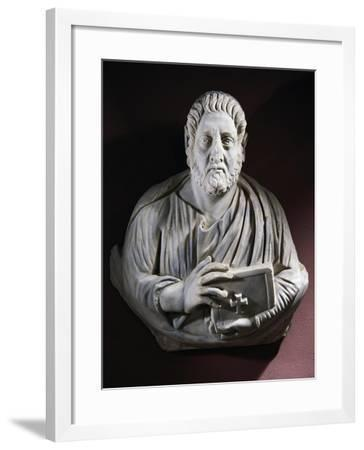 Evangelist Bust from the Monastery of Stoudios, Istanbul, Turkey--Framed Giclee Print