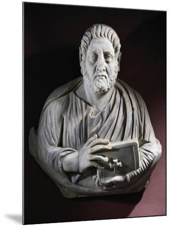 Evangelist Bust from the Monastery of Stoudios, Istanbul, Turkey--Mounted Giclee Print