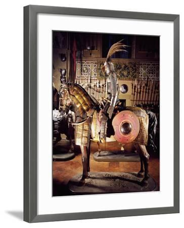 Armor in Steel, Gold, Silver, Chain Mail, Leather and Fabric--Framed Giclee Print