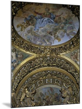 Detail of Frescoes and Decoration, Chapel of St Joseph, Church of St Mary in Campitelli--Mounted Giclee Print