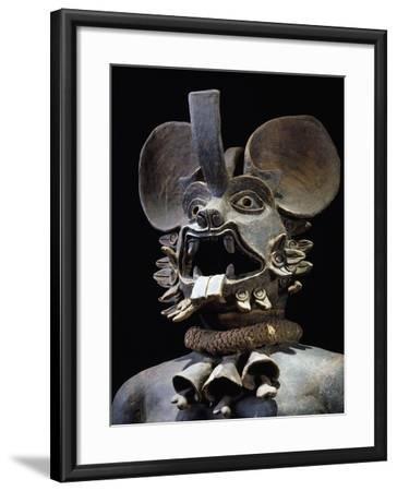 Terracotta Figurine Depicting Bat God Murcielago, Mexico--Framed Giclee Print