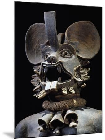Terracotta Figurine Depicting Bat God Murcielago, Mexico--Mounted Giclee Print