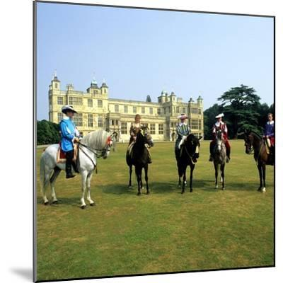 Audley End House Costume Horse Riders Re-Enactment--Mounted Giclee Print