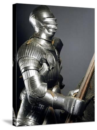 Horseman's Armor in Steel, Made in Southern Germany, 1510-1515, Germany, 16th Century--Stretched Canvas Print