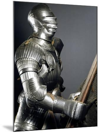 Horseman's Armor in Steel, Made in Southern Germany, 1510-1515, Germany, 16th Century--Mounted Giclee Print
