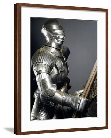 Horseman's Armor in Steel, Made in Southern Germany, 1510-1515, Germany, 16th Century--Framed Giclee Print