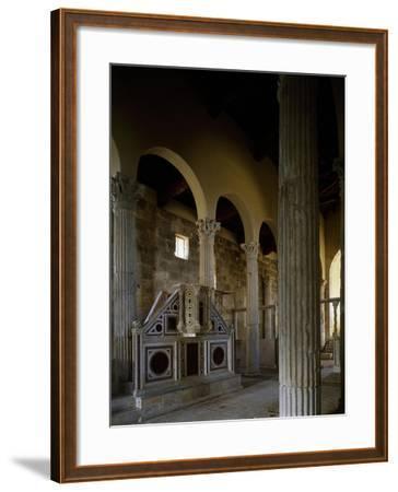 Church of Saint Peter, Interior, Massa D'Albe, Abruzzo, Italy--Framed Giclee Print