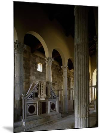 Church of Saint Peter, Interior, Massa D'Albe, Abruzzo, Italy--Mounted Giclee Print