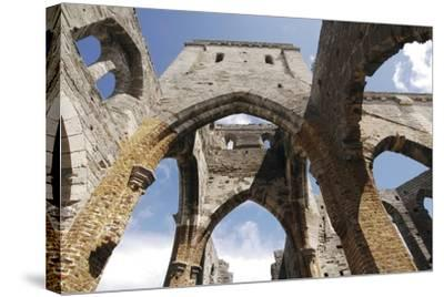 Bermuda, St George's Island, St George, Incomplete Cathedral--Stretched Canvas Print