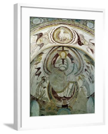 Christ as Judge of Apocalypse--Framed Giclee Print