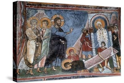 The Raising of Lazarus--Stretched Canvas Print
