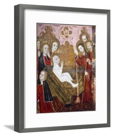 The Resurrection, Retablo of the Life of St Lazarus--Framed Giclee Print