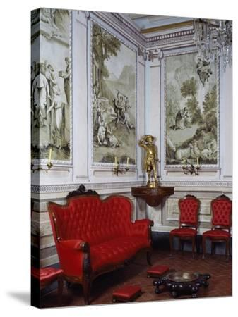 Ballroom, Romantic Museum, Sitges, Spain--Stretched Canvas Print
