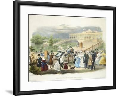 Austria, Vienna, Schonbrunn Palace, Wheelchairs Race at Tivoli Pavilion, 1831--Framed Giclee Print