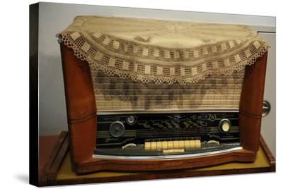 Radio Receiver. Built in Riga, Latvia, 1958-1960.--Stretched Canvas Print