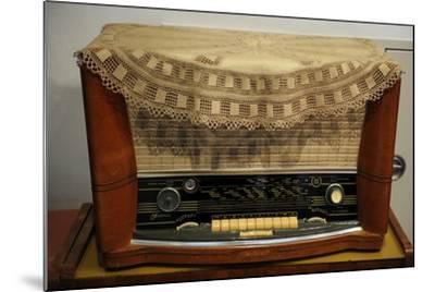 Radio Receiver. Built in Riga, Latvia, 1958-1960.--Mounted Giclee Print