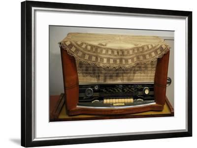 Radio Receiver. Built in Riga, Latvia, 1958-1960.--Framed Giclee Print