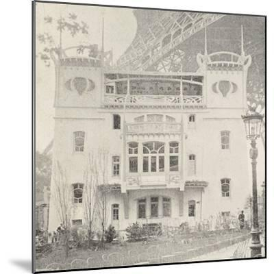 Pavillon Bleu Restaurant in Paris During Exposition Universelle, 1900, France--Mounted Giclee Print