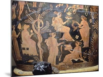 Vase Depicting Garden of Hesperides, Itay--Mounted Giclee Print