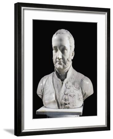 Francis I of the Two Sicilies Bust--Framed Giclee Print