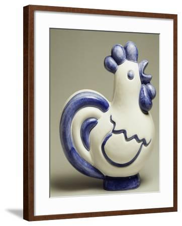 Rooster-Shaped Humidifier, Ceramic--Framed Giclee Print