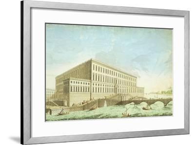 View of Stockholm, Sweden Engraving--Framed Giclee Print